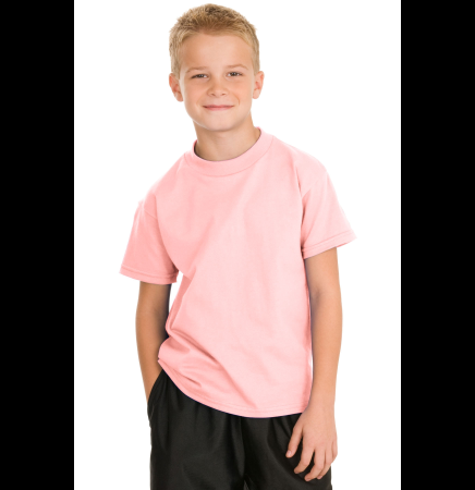Hanes Youth Tagless 100% Cotton