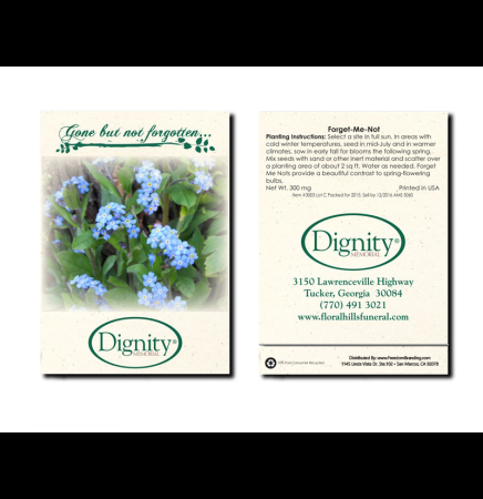 Forget-Me-Not Seed Packet