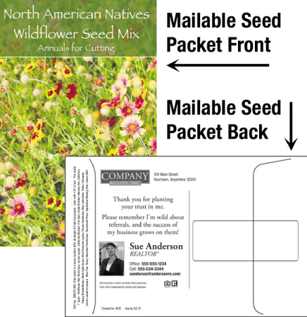 Wildflower Mix Mailable Seed Packet