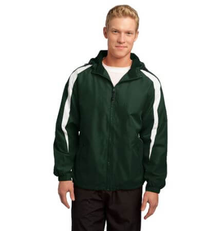 Sport-Tek Adult Fleece-Lined Colorblock Jacket