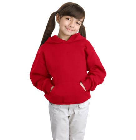 Youth ComfortBlend Pullover Hooded Sweatshirt