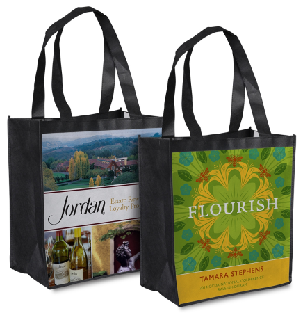 Personalized Eco-Friendly Reusable Tote Bags NO MINIMUMS, No Set Ups