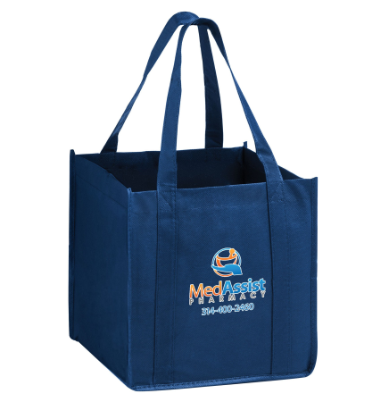 "The Cube Tote Bag w/Insert and Full Color (10""x10""x10"") - Color Evolution"