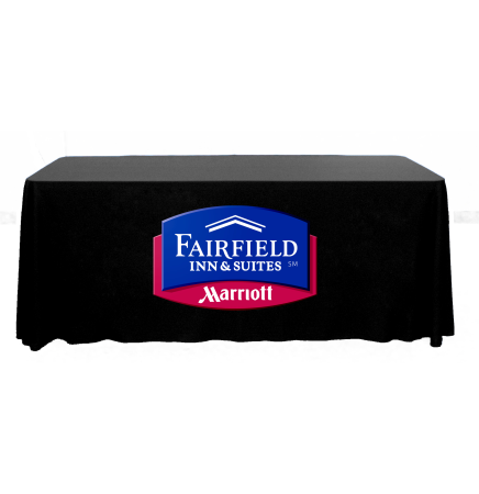 8' Throw Table Cover - Full Color