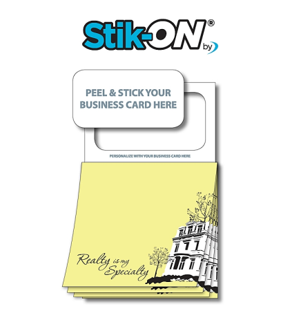 Magnetic Sticky Pad Stock Realty Pad (20 Sheet)