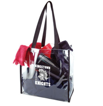 "Clear Stadium Tote Bag (12""x12""x6"")"