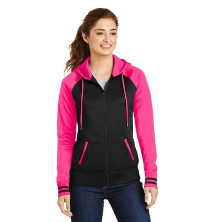Ladies Sport-Wick® Fleece Full-Zip Hooded Jacket