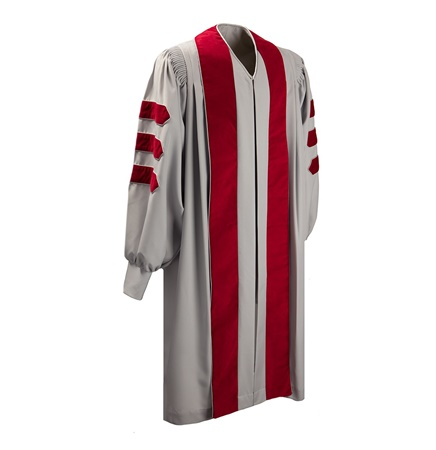 Doctoral Graduation Gown - Elite (Full-Fit) - Matte Fabric