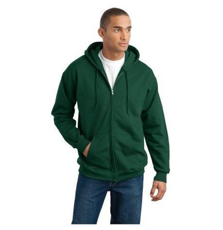 Hanes® Ultimate Cotton® Full Zip Hooded Sweatshirt