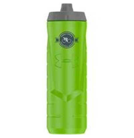 32 Oz. Under Armour® Sideline Squeezable Water Bottle (Hyper Green)