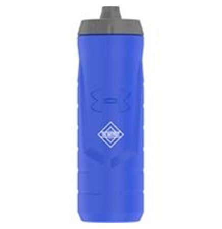 32 Oz. Under Armour® Sideline Squeezable Water Bottle (Blue)