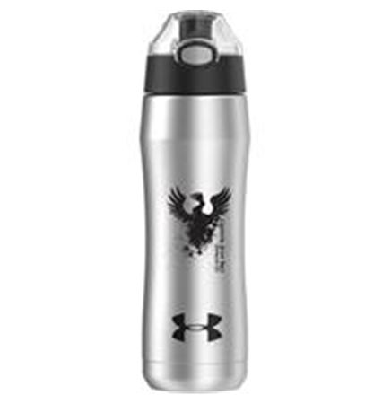 18 Oz. Under Armour® Beyond Stainless Steel Water Bottle (Silver)