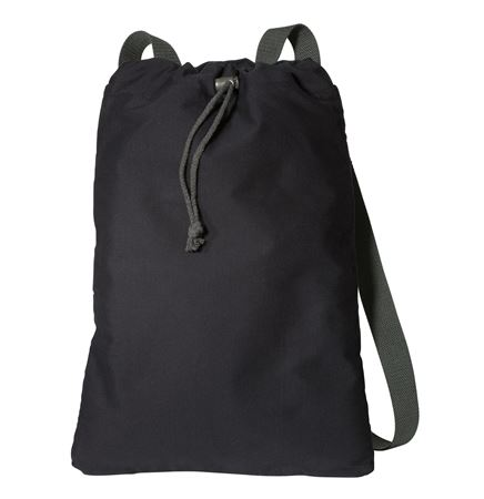 Port Authority® Canvas Cinch Backpack
