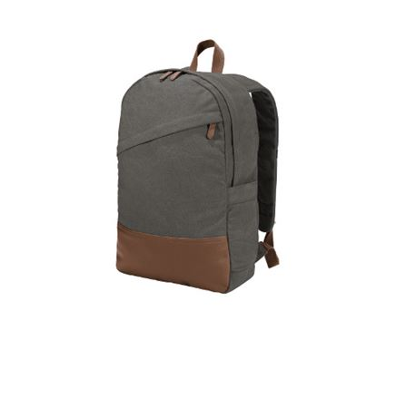 Port Authority® Cotton Canvas Backpack