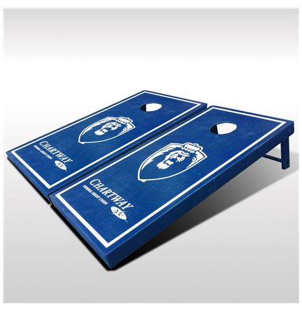 Regulation Cornhole Set w/4 color process logo