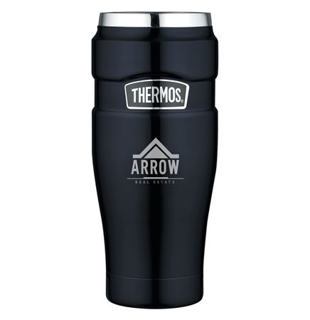 Thermos® Stainless King™ Travel Tumbler - 16 Oz. Blue