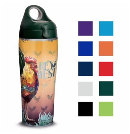 30 Oz. Tervis® Stainless Steel Sport Bottle (4-Color Process)