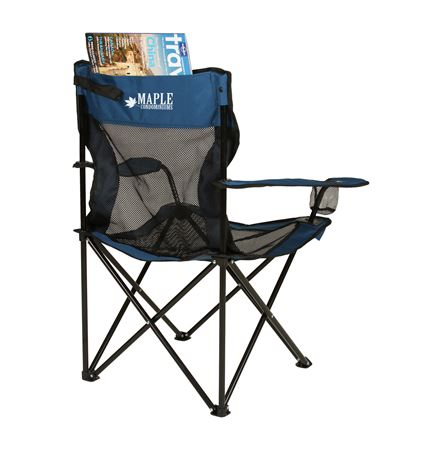Coleman Mesh Quad Chair w/ Pocket