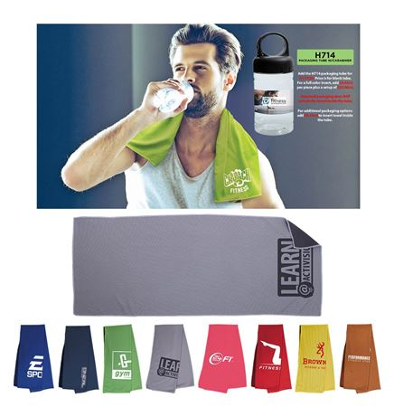 Deluxe Cooling Towel (Direct Import-10 Weeks Ocean)