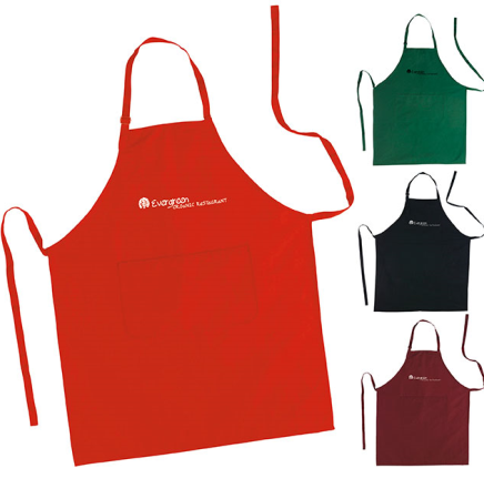 Adjustable Neck Clasp Aprons