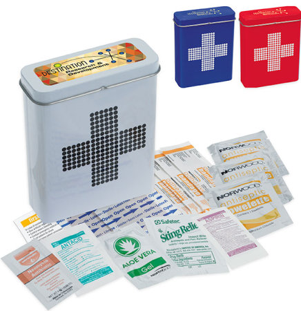 Pillowline Retro First Aid Tin