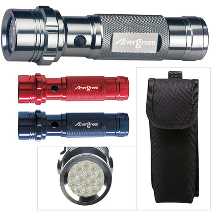V-Line Aluminum LED Flashlight